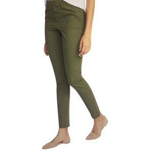OLD NAVY PIXIE CARGO OLIVE GREEN PANTS